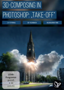 download PSD Tutorials 3D Composing in Photoshop Take off