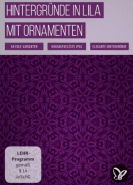 download PSD Tutorials Hintergruende in Lila mit Ornamenten