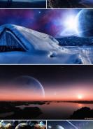 download Sci Fi Landscape Wallpaper (Pack 4)