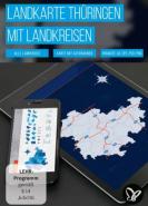 download PSD Tutorials Landkarte Thueringen mit Landkreise