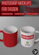 download PSD Tutorials Photoshop Mockups fuer Tassen