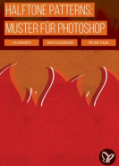 download PSD Tutorials Halftone Patterns Muster fuer Photoshop