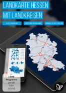 download PSD Tutorials Landkarte Hessen mit Landkreisen