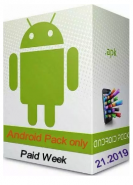 download Android Pack Apps only Paid Week 21 2019