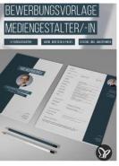 download PSD Tutorials Bewerbungsvorlage Mediengestalter