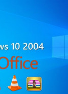 download Microsoft Windows 10 Professional 20H1 v2004 Build 19041.264 (x64) + Software + Microsoft Office 2019 ProPlus Retail